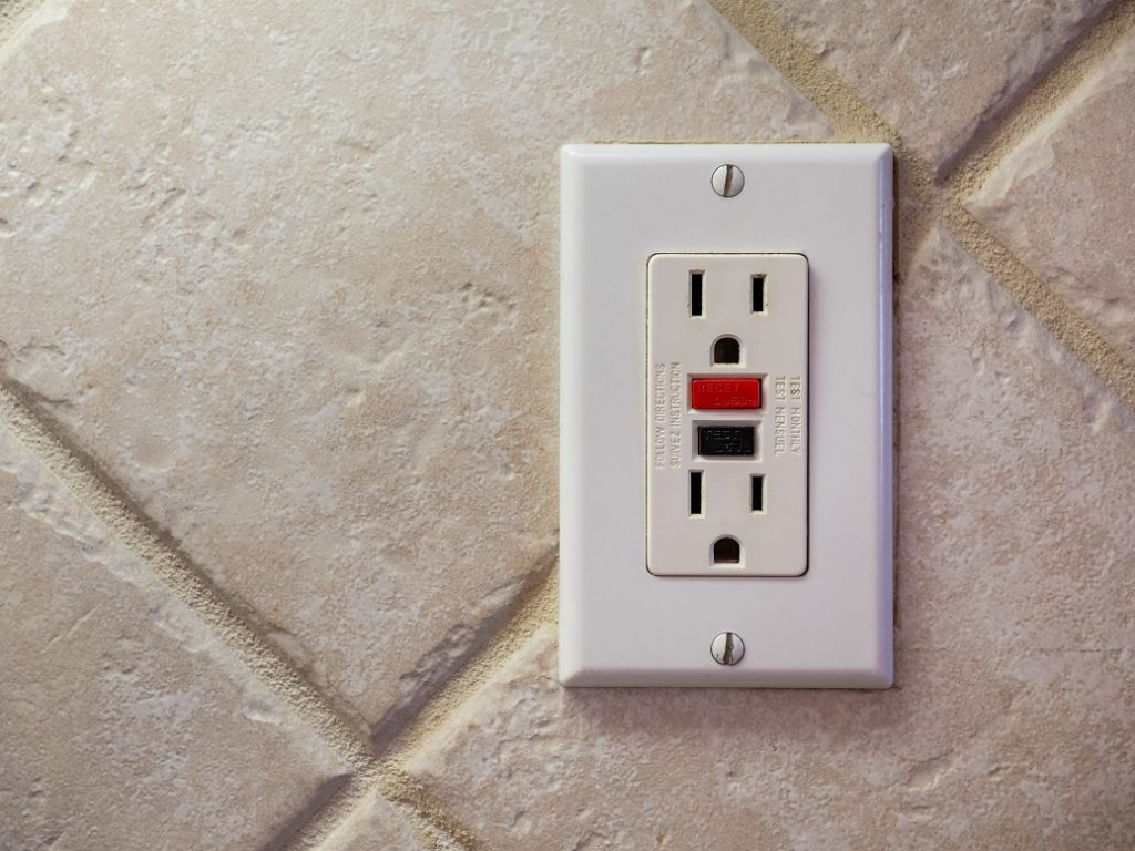 GFCI Outlet in Home